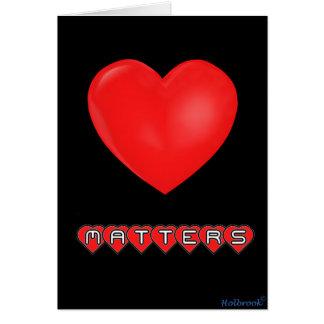 Love Matters Card