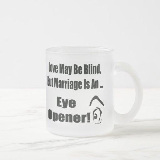 Love May Be Blind T-shirts Gifts Mug