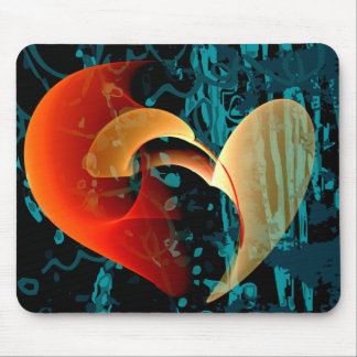 Love Me Brago-Mitchell Fine Fractal Art Mouse Pad