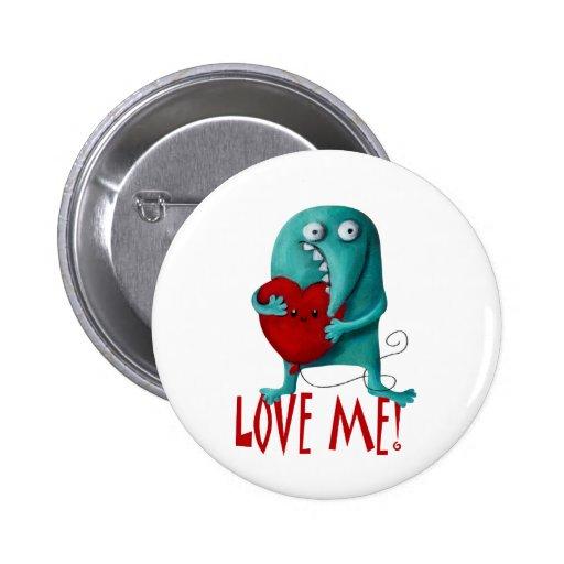 LOVE ME! Cute Guy Pins