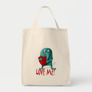 LOVE ME! Cute Guy Canvas Bag