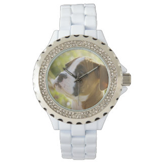 Love Me Look Boxer Puppy Dog Watch