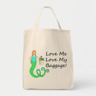 Love Me Love My Baggage!  Mermaid Bag