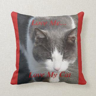 Love Me Love My Cat Cushion