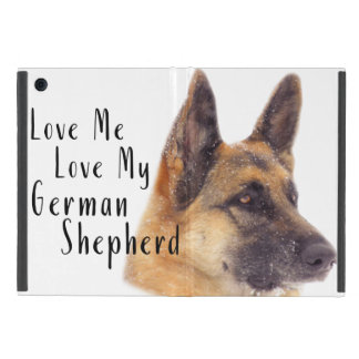 Love Me Love My German Shepherd Case For iPad Mini
