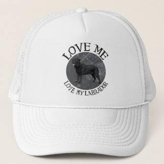 Love me, love my Labrador Trucker Hat