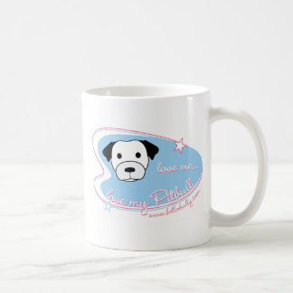 Love me...Love my Pitbull! Coffee Mug