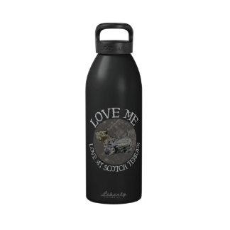 Love Me, Love My Scotch Terrier Drinking Bottle