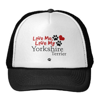 Love Me, Love My Yorkshire Terrier Hats