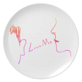 Love Me Plate