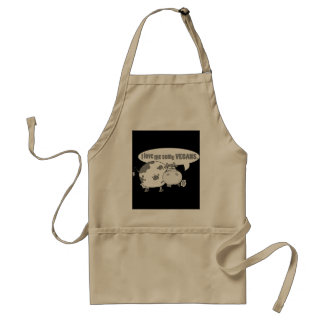 LOVE ME SOME VEGANS STANDARD APRON