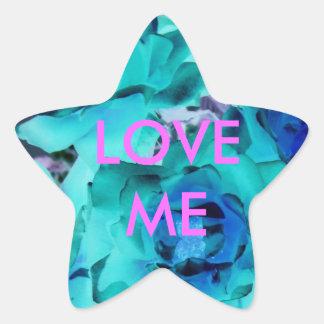 LOVE ME - STAR STICKER