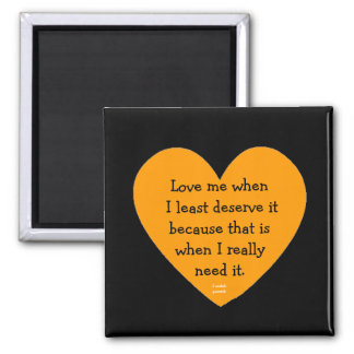 love me swedish proverb square magnet