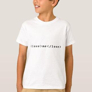 Love Me Tag Tshirt