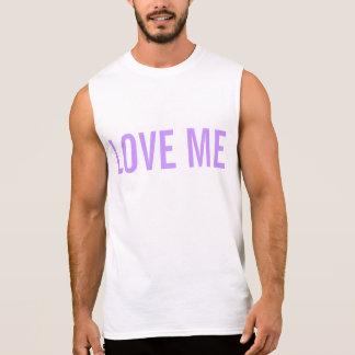 Love me sleeveless tee