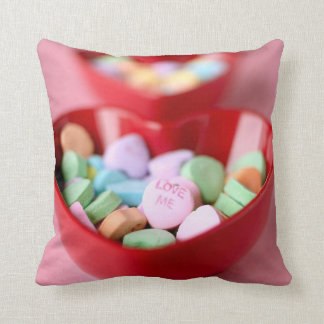Love Me Valentines Day Candy Hearts Cushion