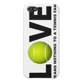 Love Means Nothing to a Tennis Fan iPhone 5 Covers