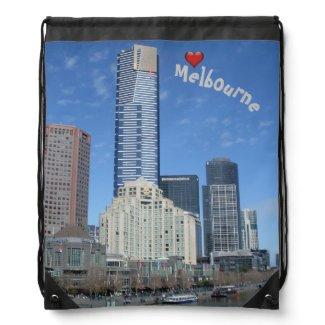 Love Melbourne Drawstring Backpack