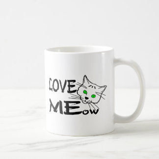 Love MEow Coffee Mug