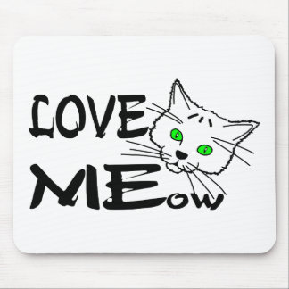 Love MEow Mouse Pad