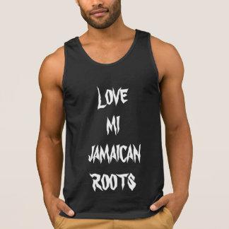 LOVE MI JAMAICAN ROOTS SINGLET