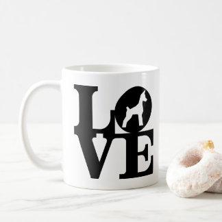 LOVE Min Pin Classic Coffee Mug