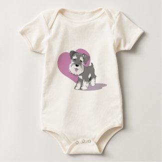 Love Miniature Schnauzer Puppy Shirt