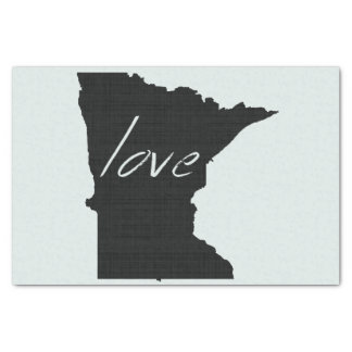 Love Minnesota Tissue Paper