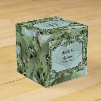 Love Mint Chips Wedding Party Favour Boxes