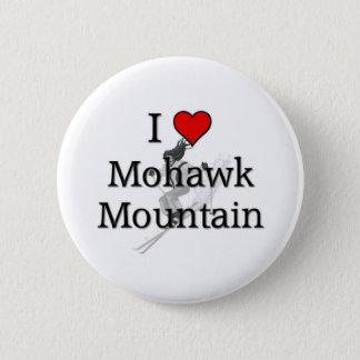 Love Mohawk Mountain 6 Cm Round Badge