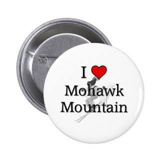 Love Mohawk Mountain 6 Cm Round Badge