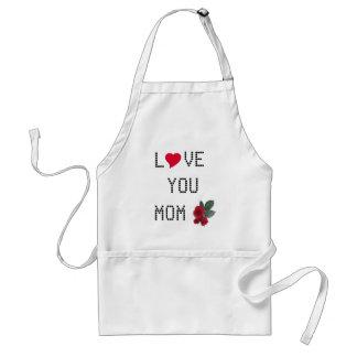 Love Mom Standard Apron