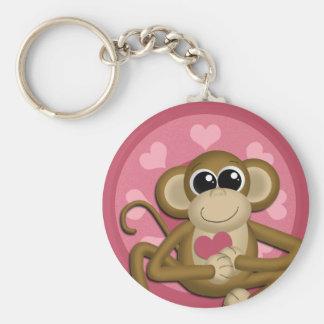 Love Monkey Keychain