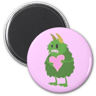 """Love Monster"" Fridge Magnet"