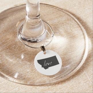 Love Montana Wine Charm