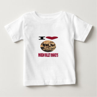 Love Moreno Valley Donkeys Baby T-Shirt