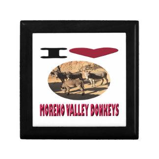 Love Moreno Valley Donkeys Gift Box