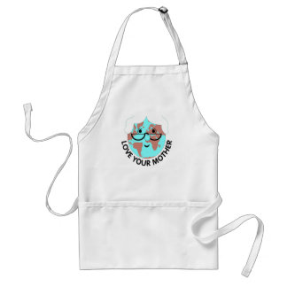 Love Mother Earth Adult Apron