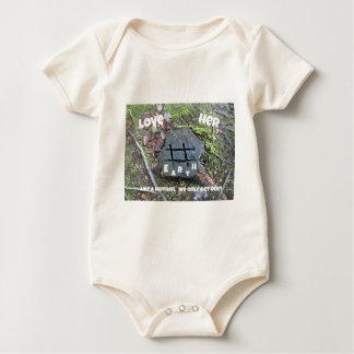Love Mother Earth. Baby Bodysuit
