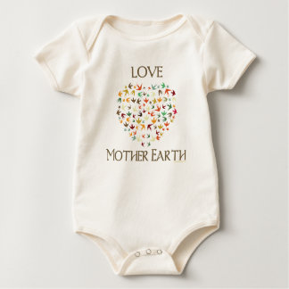 Love Mother Earth Baby Bodysuit