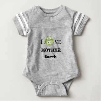 Love Mother Earth Baby Bodysuit