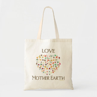 Love Mother Earth Budget Tote Bag