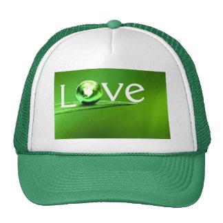 Love mother earth by healing love trucker hat