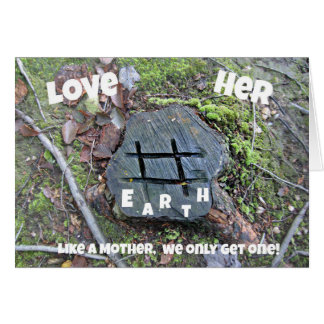 Love Mother Earth. Cards