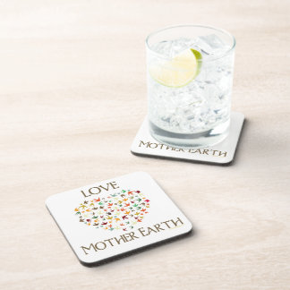 Love Mother Earth Drink Coasters