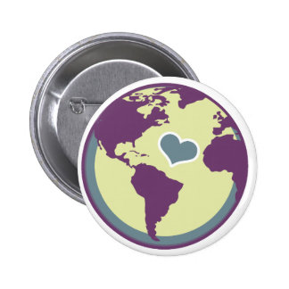 Love Mother Earth Day Buttons