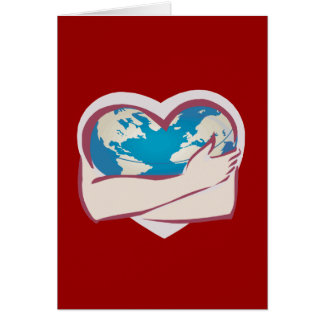 Love Mother Earth Greeting Card