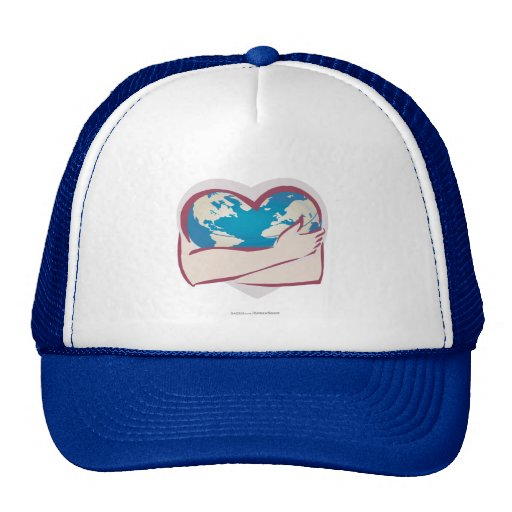 Love Mother Earth Mesh Hat