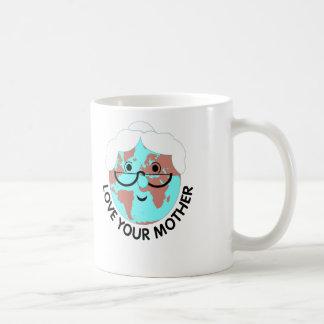 Love Mother Earth Classic White Coffee Mug