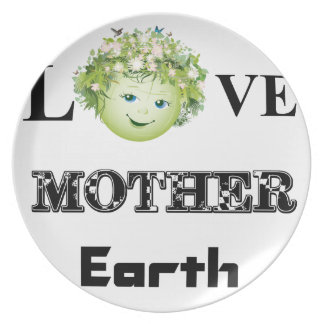 Love Mother Earth Plates
